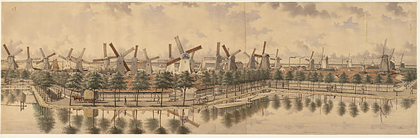 wind-mills-in-amsterdam